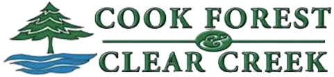 Cook Forest Vacation Bureau || Cook Forest Cooksburg PA Logo